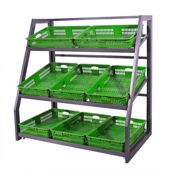 Assembly fruit display rack