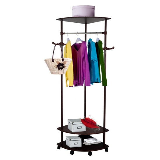 Clothing hanging display rack MST